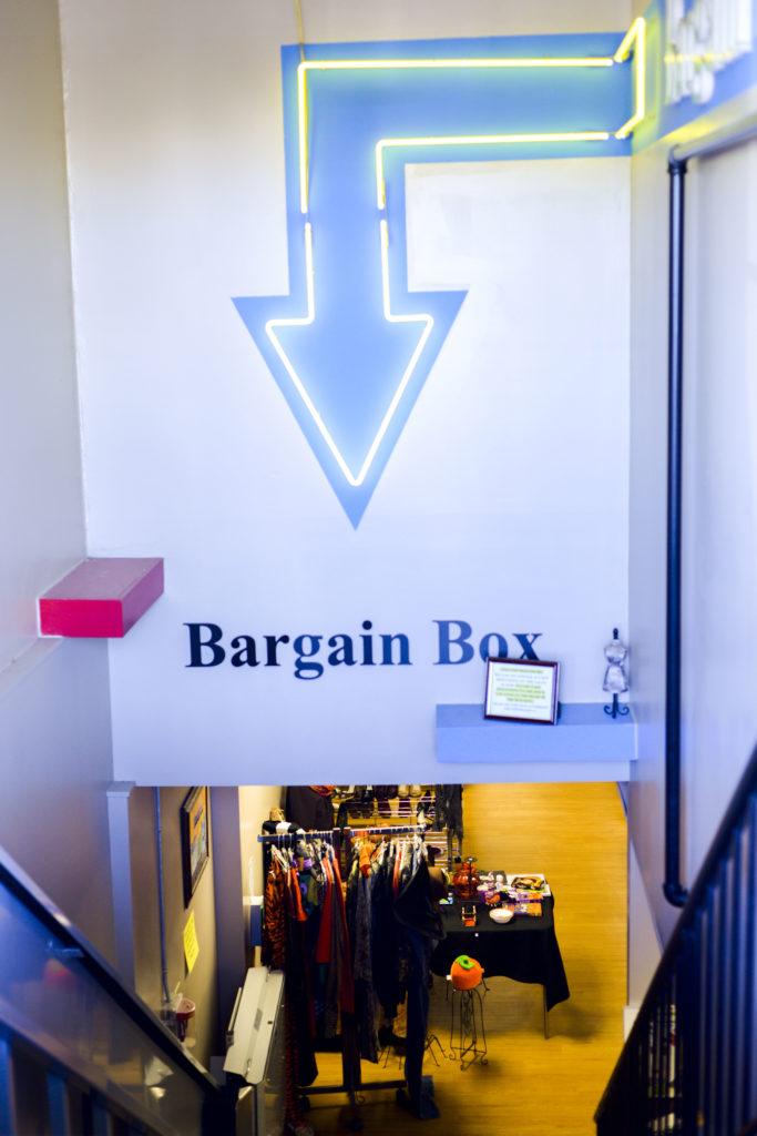 Bargain Box in Cameron Village