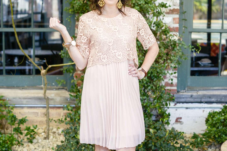 Ladylike Pink Dress - I'm Fixin' To - @mbg0112