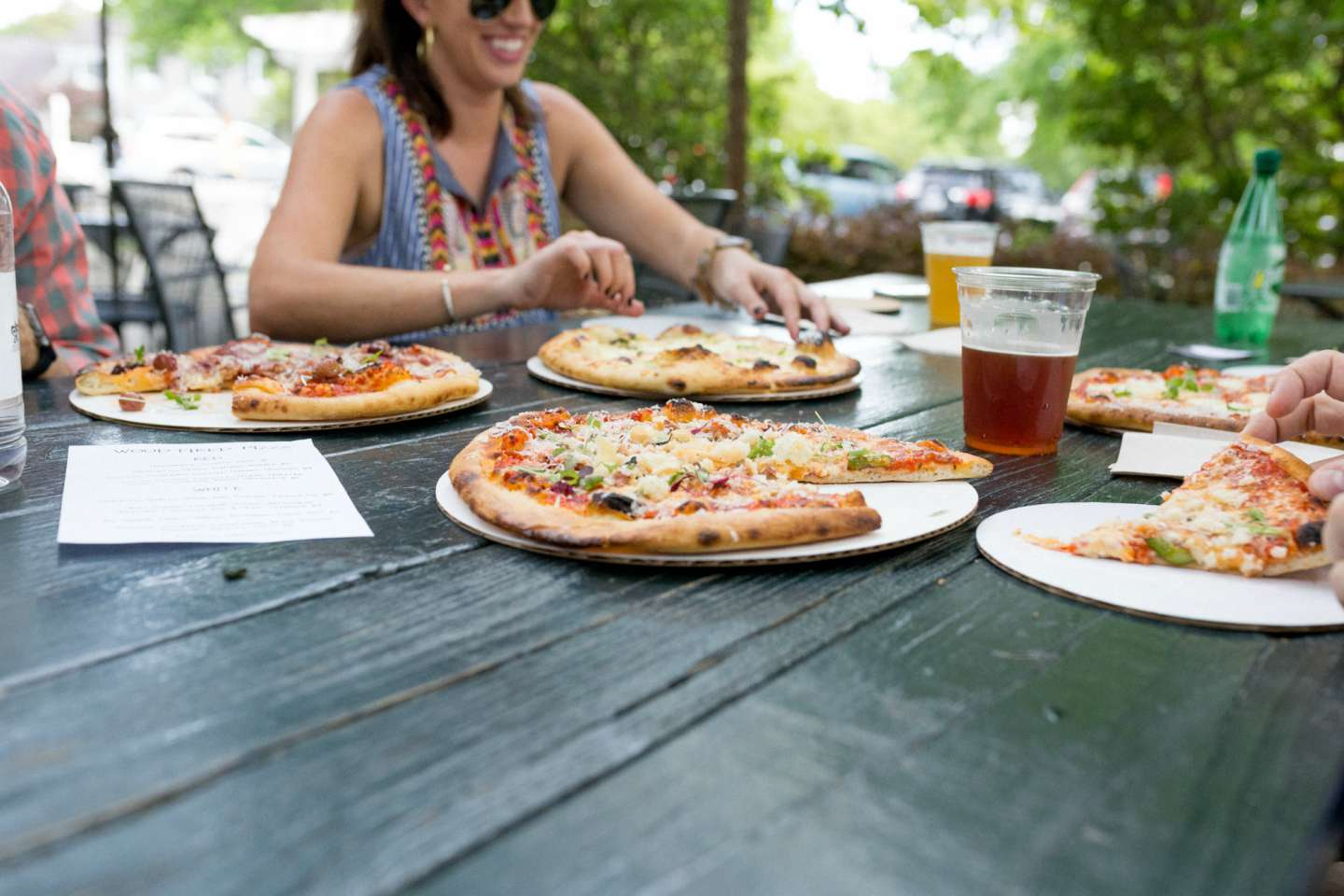 Roost Beer Garden at Fearrington Village with Humanitè Boutique - @mbg0112 - I'm Fixin' To