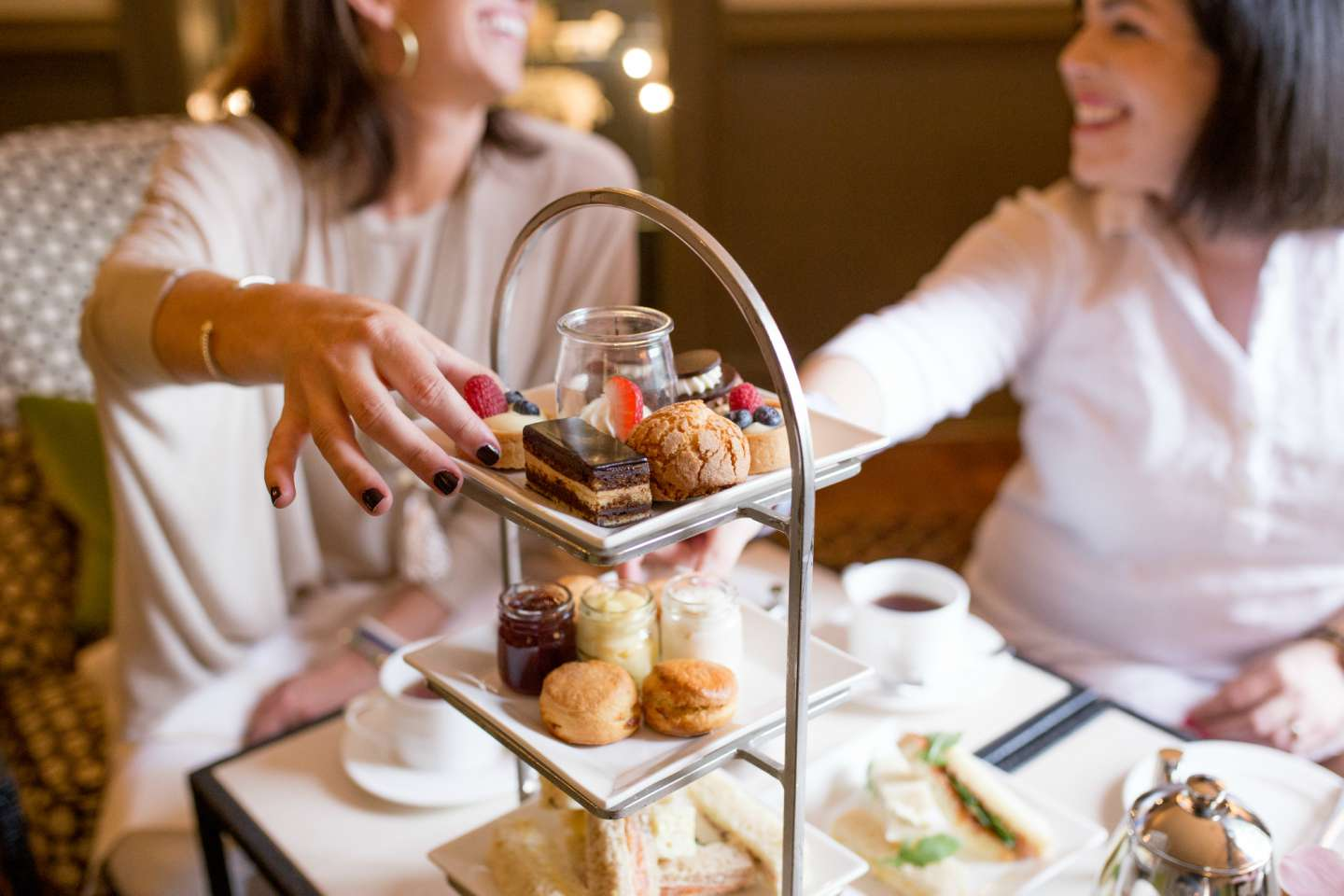 A Ladies' Afternoon Tea at Fearrington House Inn - @mbg0112 - I'm Fixin' To
