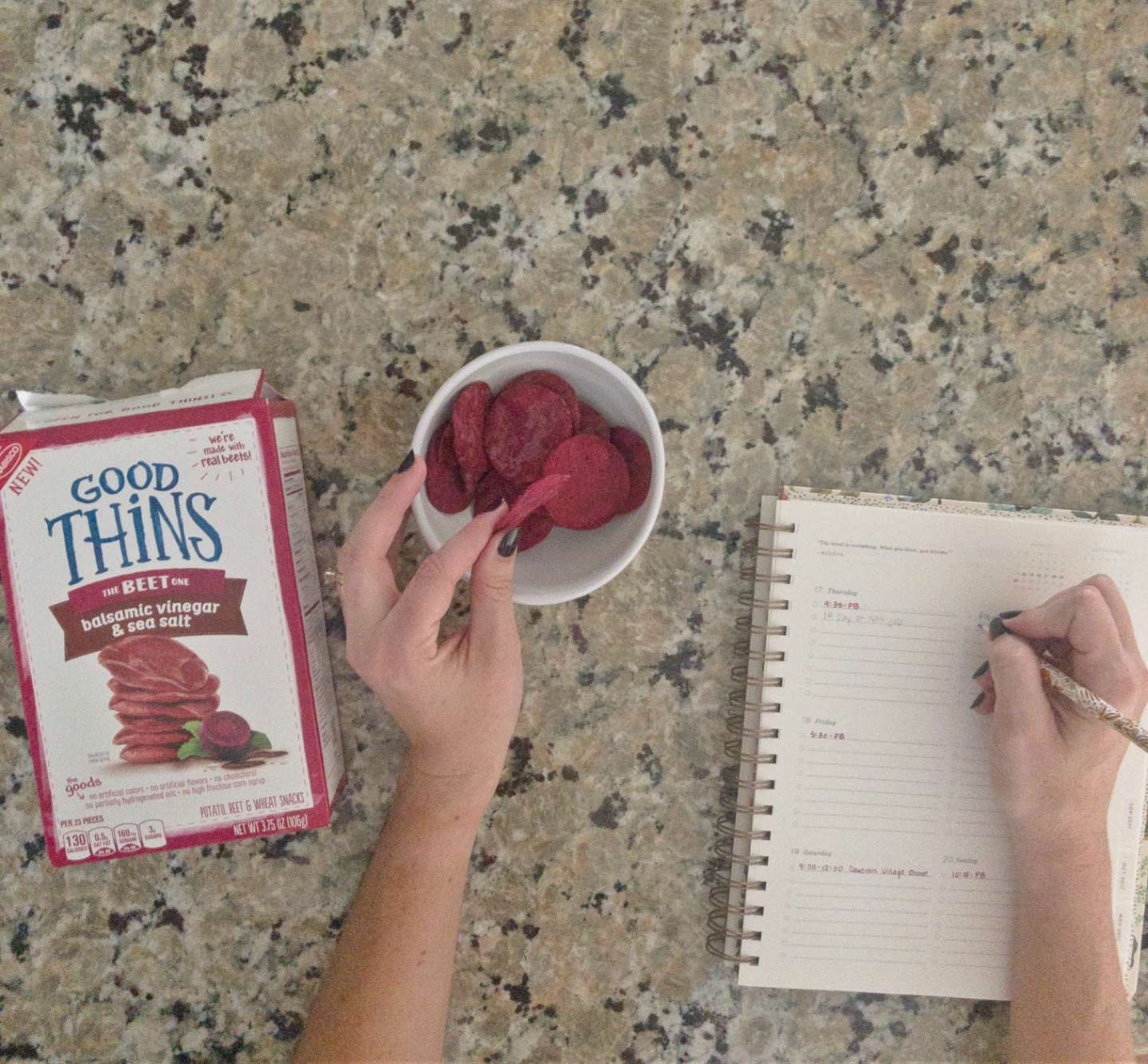 Preparing for Back To School with GOOD THiNS by NC blogger I'm Fixin' To