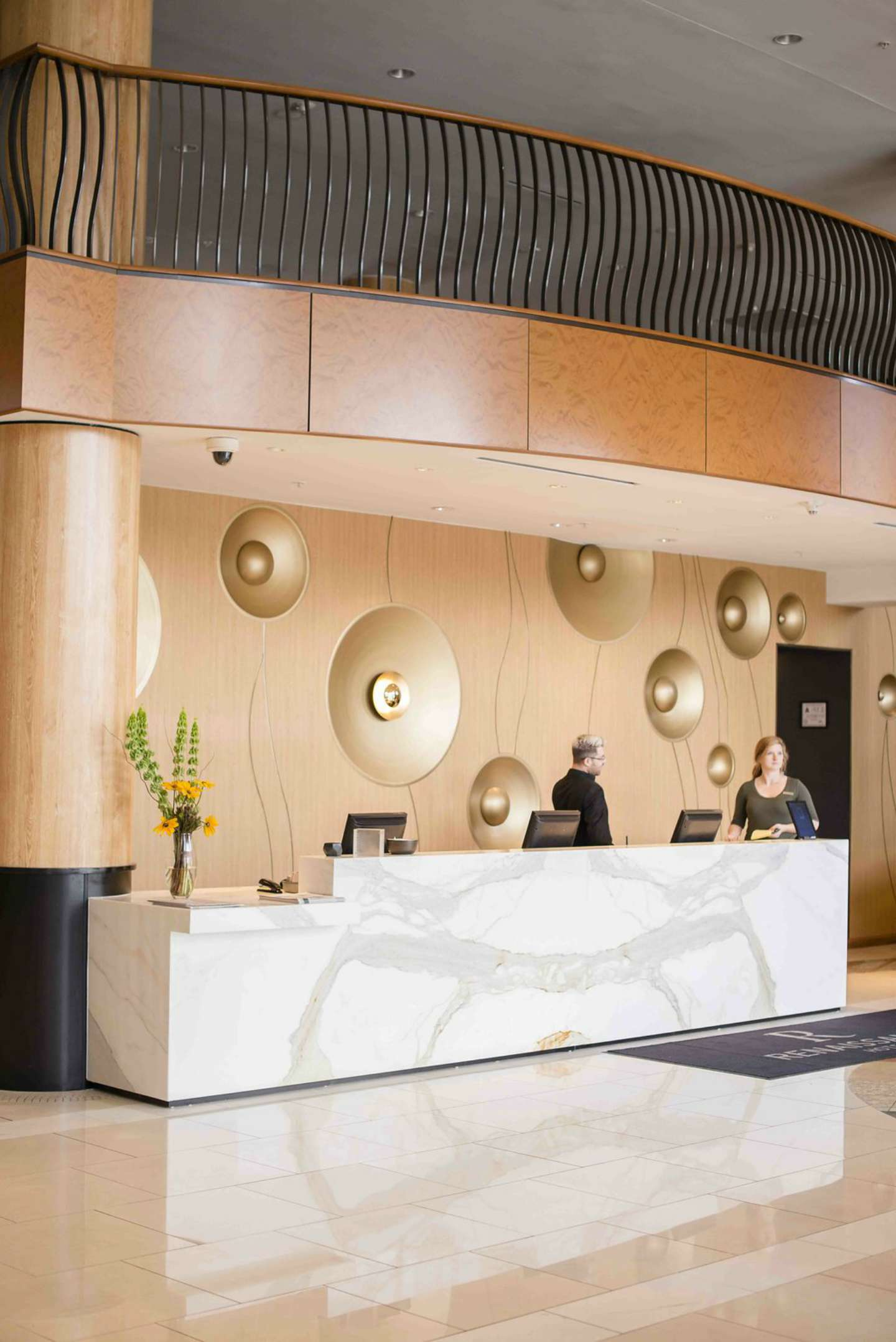 Raleigh Hotel - Renaissance Raleigh North Hills Hotel by NC blogger I'm Fixin' To @mbg0112