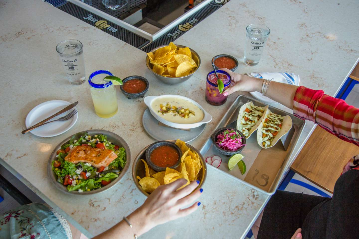 Cantina 18 in Cameron Village for a Girls' Day Out - I'm Fixin' To - @mbg0112
