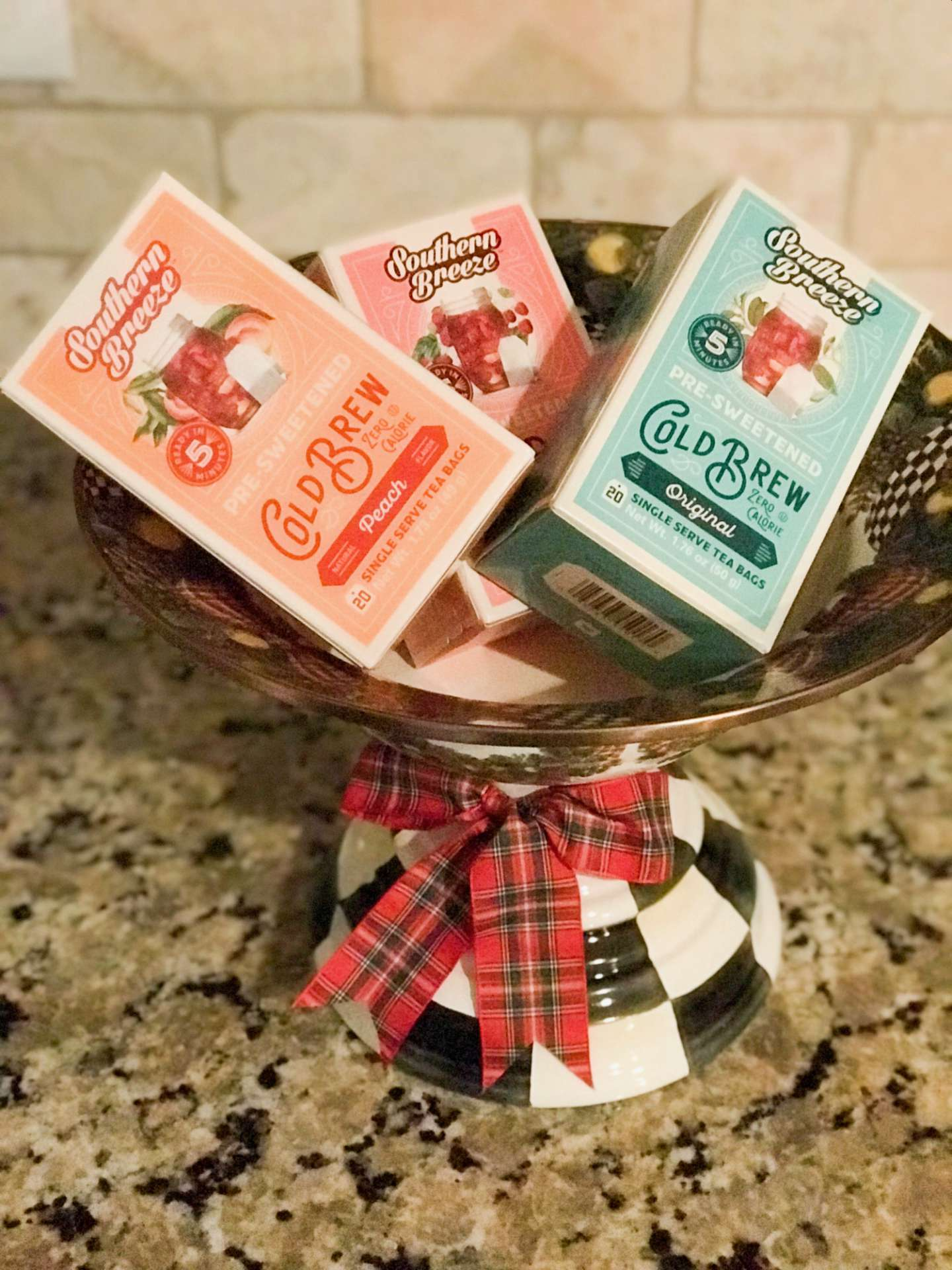 Cranberry Citrus Tea Featuring Southern Breeze Cold Brew - I'm Fixin' To - @mbg0112