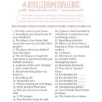 Joy Filled Home Challenge: Week #4