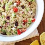 Recipe: Mediterranean Quinoa Salad