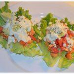 Recipe: Buffalo Chicken Lettuce Wraps