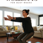 Three 5 Minute Workouts for Busy Weeks