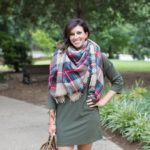 Olive & Plaid for Fall