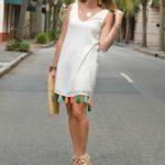Tassel Dress in Charleston