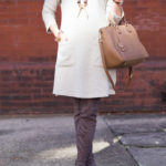 Neutral Dress + Over the Knee Boots