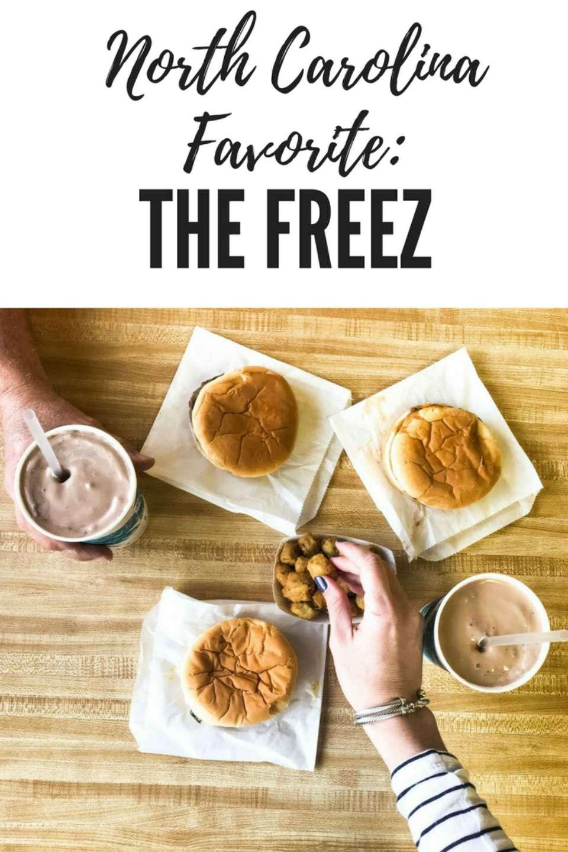 North Carolina Restaurant: The Freez - I'm Fixin' To - @mbg0112