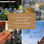 Top 16 Patio Dining in (and around) Downtown Raleigh
