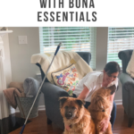 Keeping Our Floors Clean with Bona Essentials