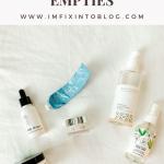 Summer Beauty: 10 Recent Product Empties