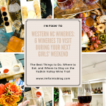 Western NC Wineries: 6 Wineries to Visit During your Next Girls' Weekend