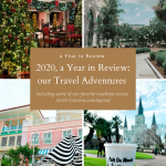 2020, a Year in Review: our Travel Adventures
