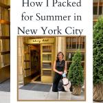 How I Packed for New York City
