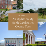 An Update on My North Carolina 100 County Tour